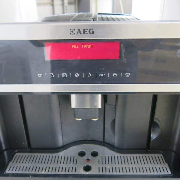 Aeg Built In Bean To Cup Coffee Machine Model Pe4517 M